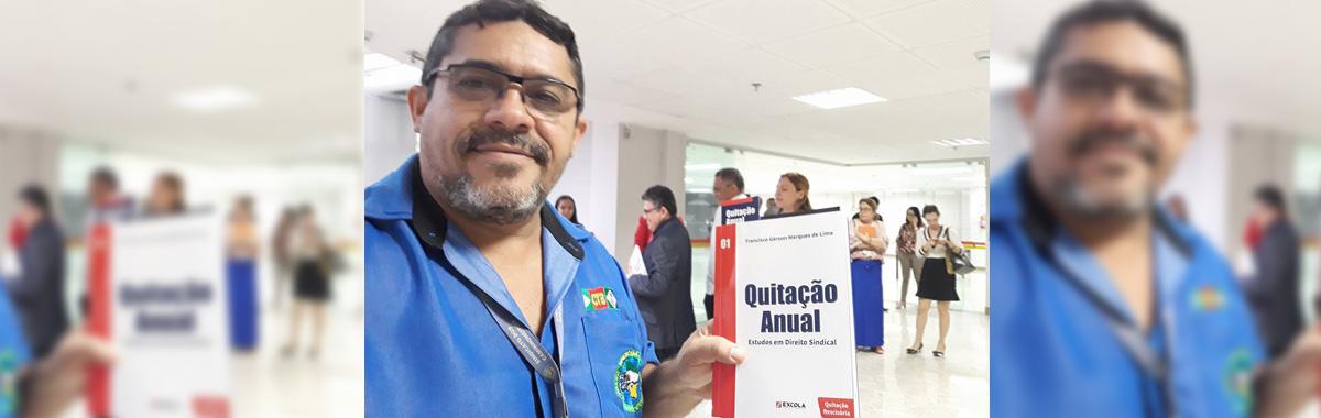 SINDICAM-CE participa de lançamento do livro e palestra sobre Quitação Anual Trabalhista