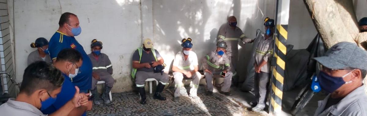 Trabalhadores da Concreteira Engemix conquistam reajuste salarial de 6.21%