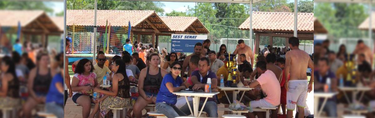 Trabalhadores da região do Cariri participam da confraternização do SINDICAM - CE