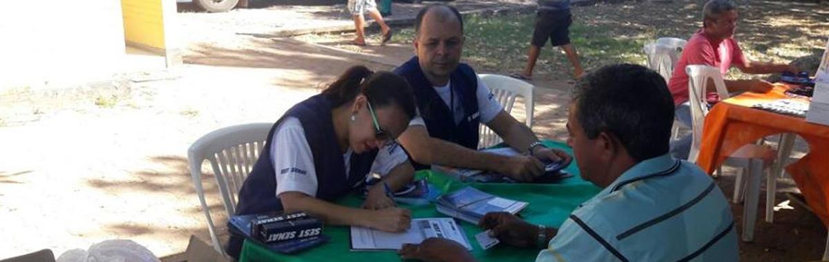 SINDICAM participa de atividades alusivas ao dia do motorista.