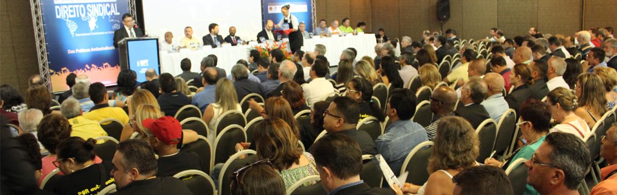 SINDICAM-CE participa do IV Congresso Internacional de Direito Sindical