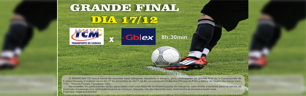 Final do II Campeonato Futebol Socity