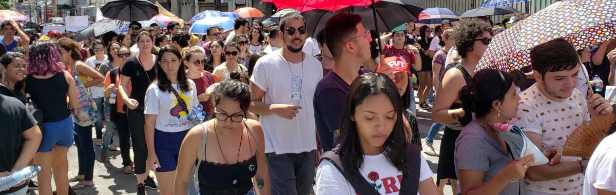 SINDICAM  manifesta apoio à greve nacional contra cortes na educação