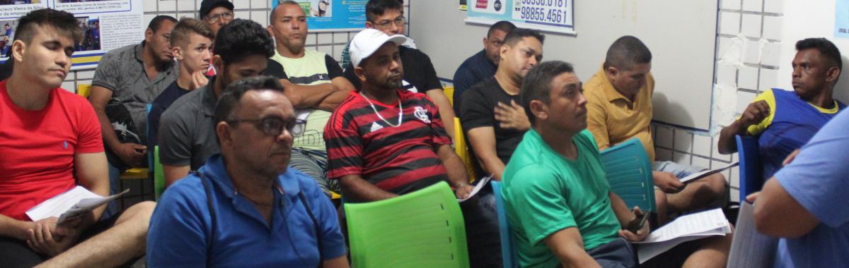 Reunião preparatória para o 4a Edição do Campeonato de Futebol Society da Categoria