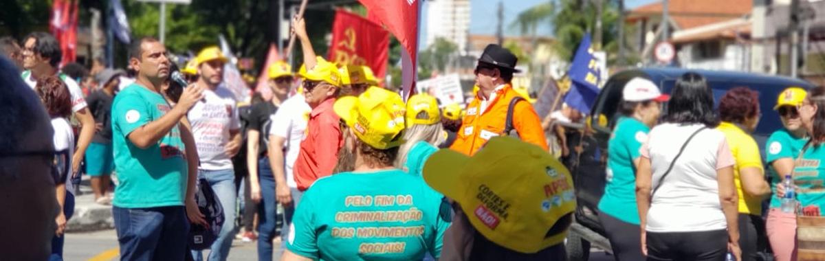 Estudantes e trabalhadores vão às ruas contra os desmandos de Bolsonaro