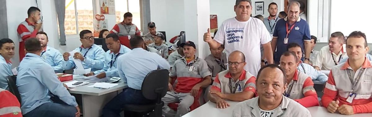 Trabalhadores da Itaipava de Barbalha recebe visita da diretoria do SINDICAM-CE