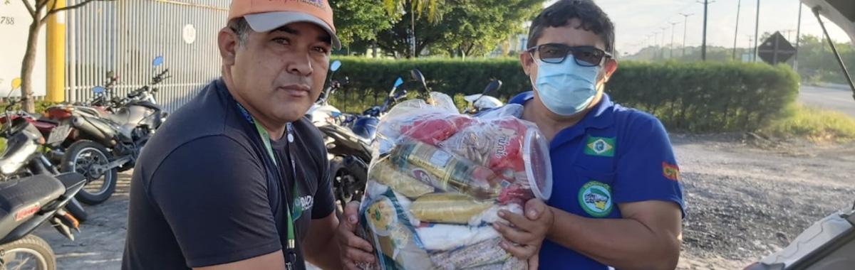 SINDICAM entrega cestas básicas para SÓCIOS do sindicato