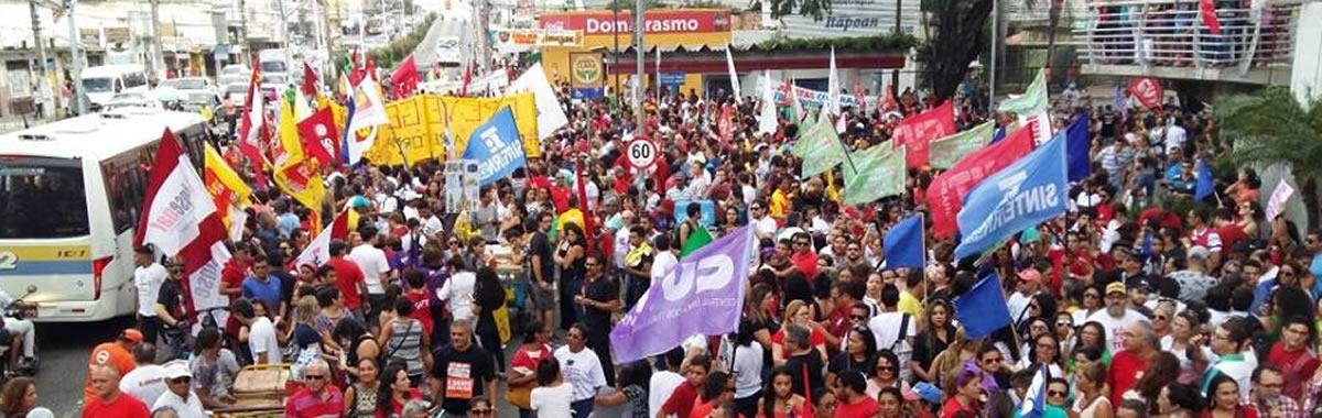 Sindicam luta contra o Fim da Aposentadoria e Reforma Trabalhista