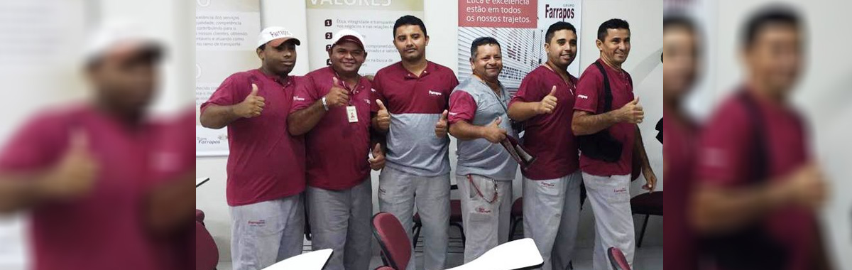 Sindicato acompanha elei��es da CIPA 2016/Transfarrapos.