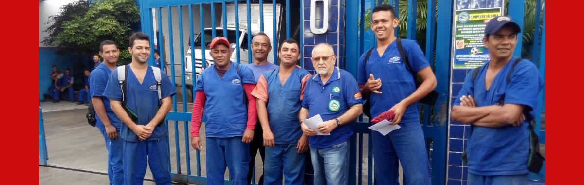 Sindicato realiza ação sindical para divulgar a Campanha Salarial 2018/2019